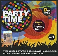 Supafly Inc Party Time DFM 101 2 Vol 1 артикул 12934a.